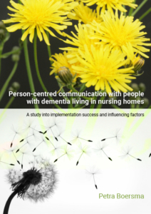 Person-centred communication with people with dementia living in nursing homes