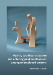 Health, social participation and entering paid employment among unemployed persons
