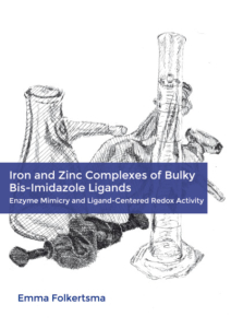 Iron and Zinc Complexes of Bulky Bis-Imidazole Ligands