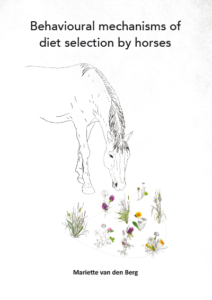 Behavioural mechanisms of diet selection by horses