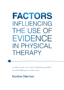 Factors influencing the use of evidence in physical therapy