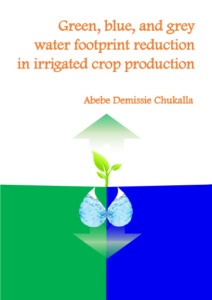 Green, blue, and gray water footprint reduction in irrigated