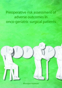 Preoperative risk assessment of adverse outcomes in oncogeriatric surgical patients