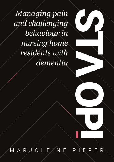 Managing pain and challenging behaviour in nursing home residents with dementia