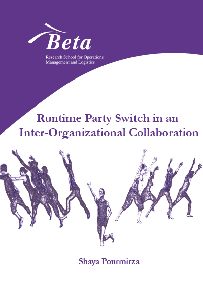 Runtime party switch in an inter-organizational collaboration