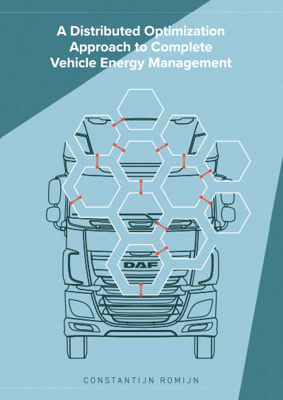 A distributed optimization approach to complete vehicle energy management