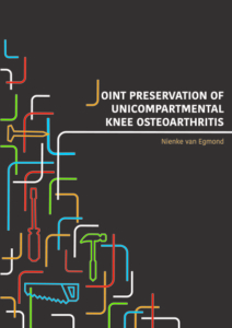 Joint preservation of unicompartmental knee osteoarthritis
