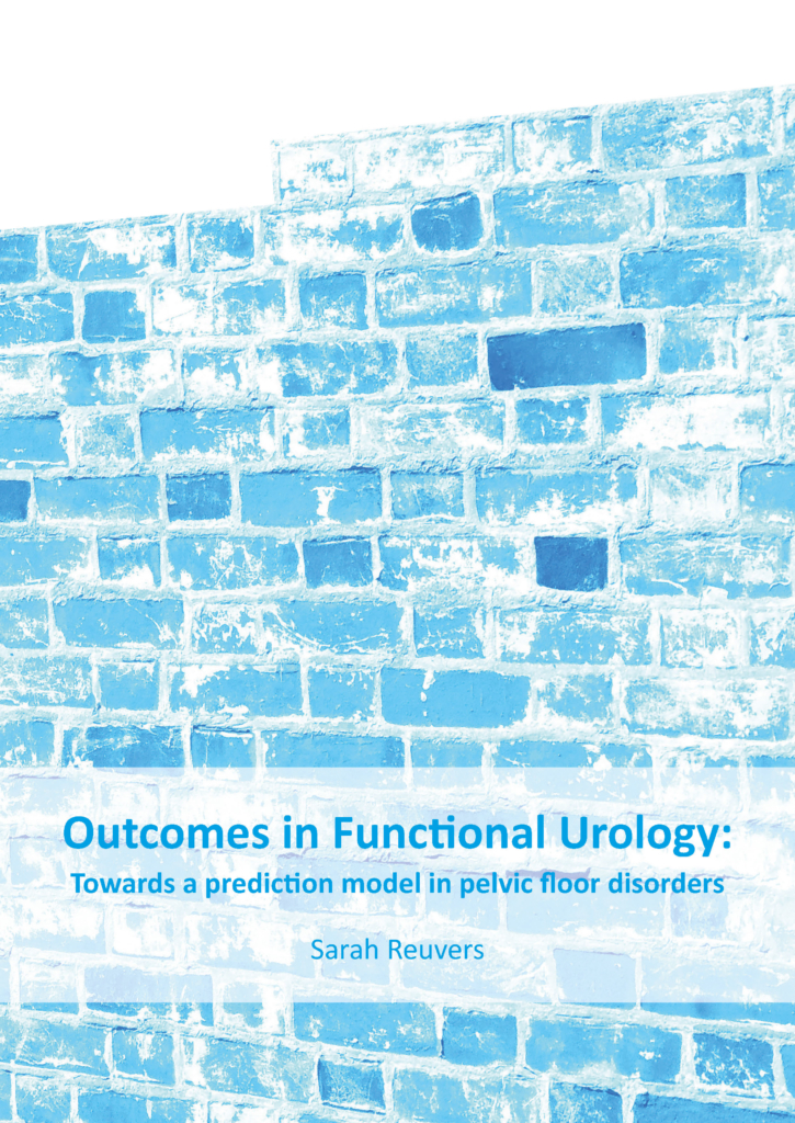 Outcomes in functional urology