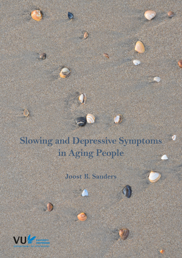 Slowing and depressive symptoms in aging people