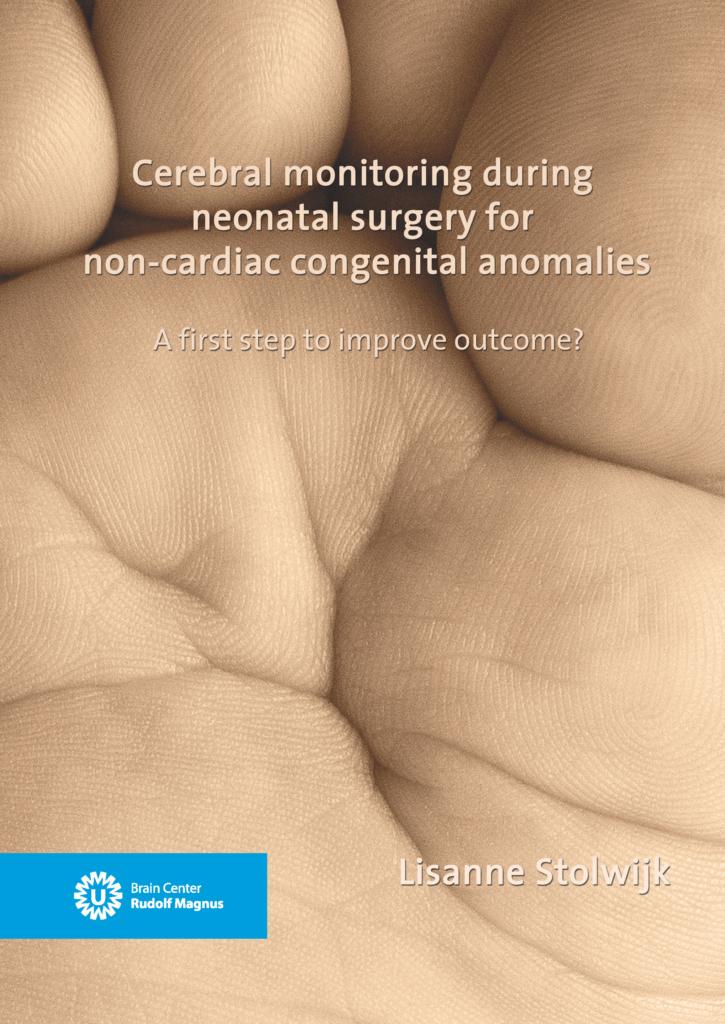 Cerebral monitoring during neonatal surgery for non-cardiac congenital anomalies