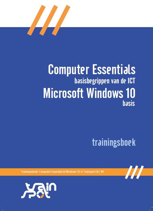 computer essentials- basisbegrippen van de ICT