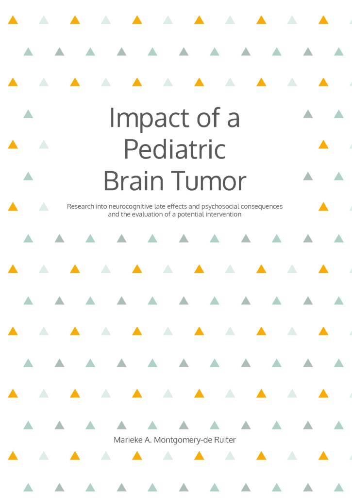 Impact of a Pediatric Brain Tumor