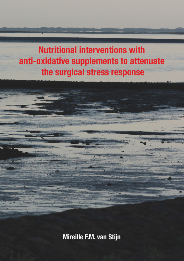 Nutritional interventions with anti-oxidative supplements to attenuate the surgical stress response