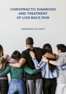 Chiropractic diagnosis and treatment of low back pain
